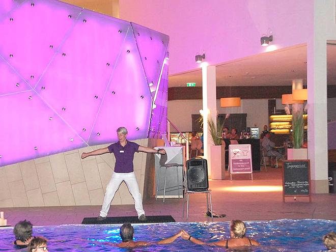 Kostenlose Wassergymnastik