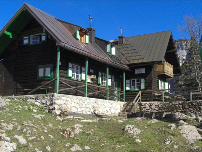 Lambacher Hütte, Selbstversorgerhütte