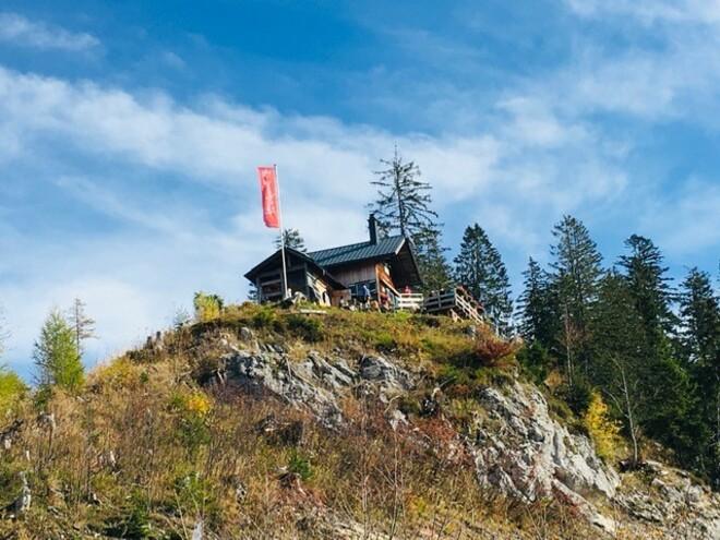 Raschberghütte, Selbstversorgerhütte