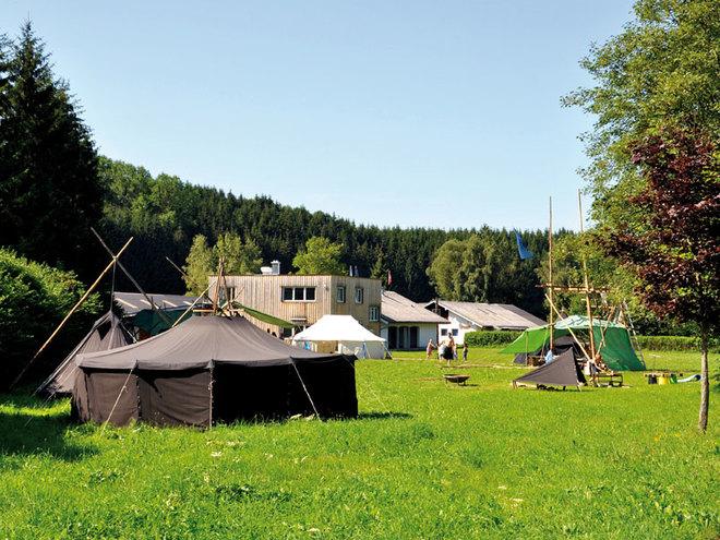 Pfadfinderlager Eggenberg - Scout Camp Austria - Zentrum der OÖ Pfadfinder & Pfadfinderinnen