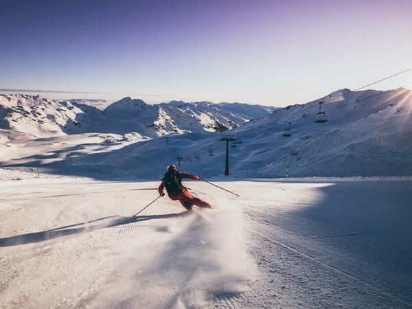 Good Morning Skiing
