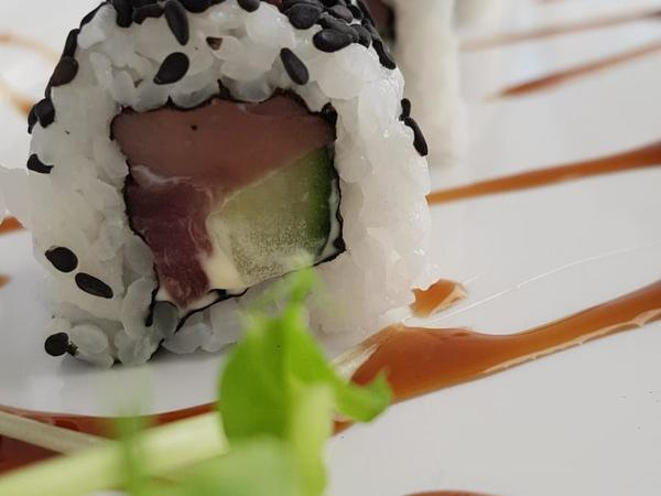 """Sushi Abend bei """"Sushi&More"""" Terrasse"""