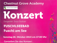 Concert of the 'Chestnut Groove School' at the Fuschlseebad