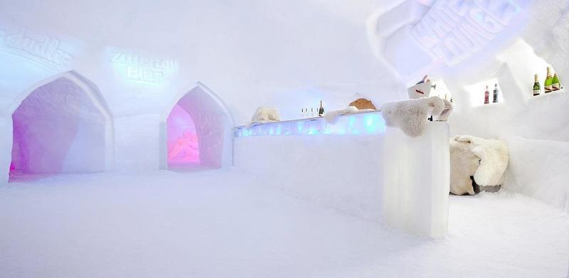 White Lounge Igloo Party