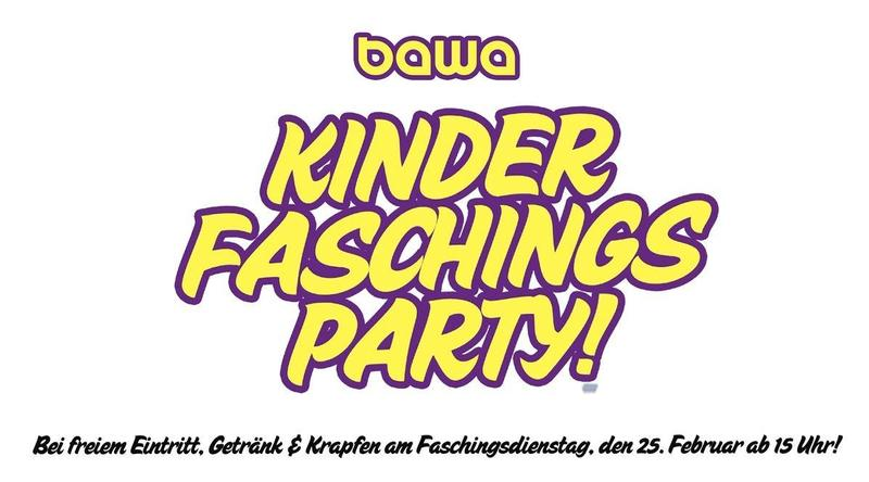 Kinderfaschingsparty