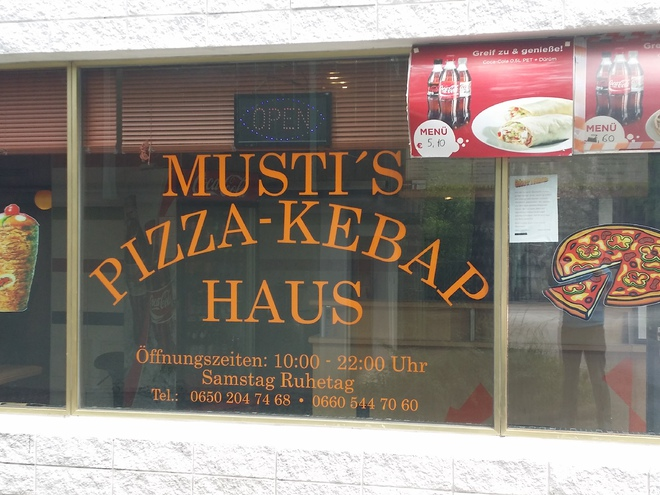MUSTI's Pizza-Kebap-Schnellimbiss