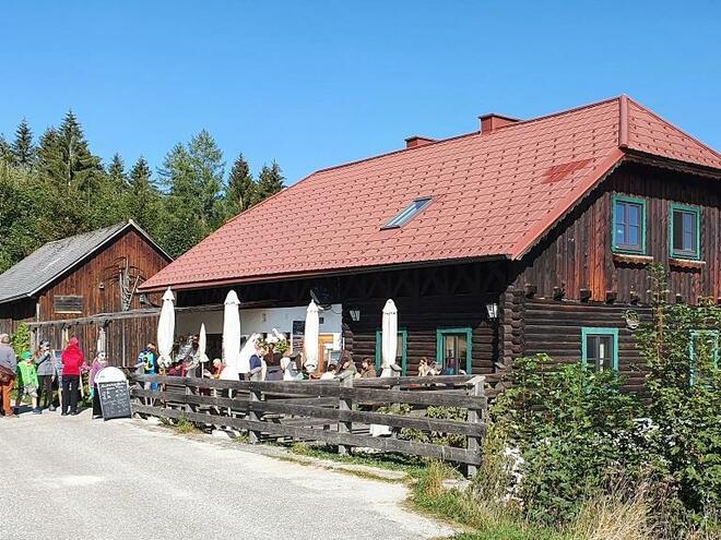 Jausenstation Blauer Hirsch