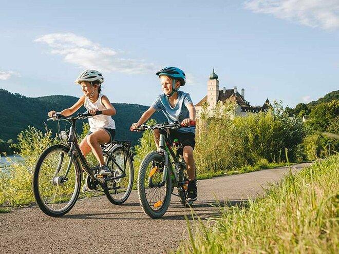 Donauradweg - Familienradtour,  Linz-Wien