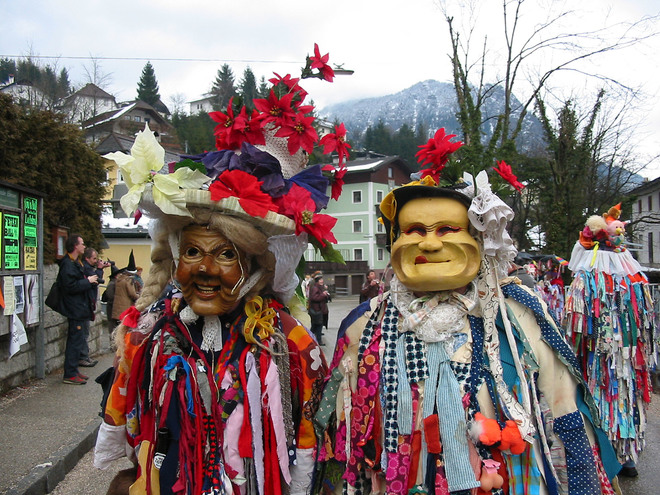 Fasching in Ebensee