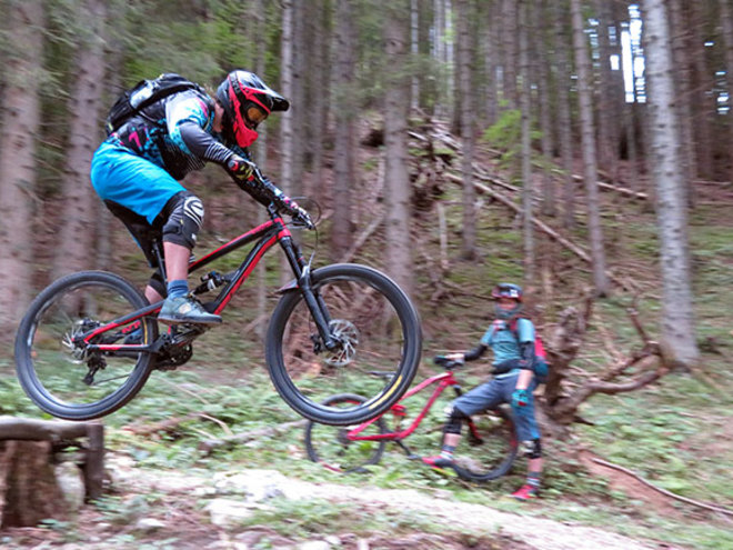 Enduro - Singletrail Training / inkl. Liftkarte