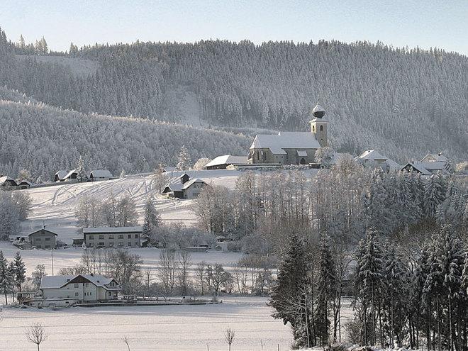 Magdalenaberg in Pettenbach im Winter