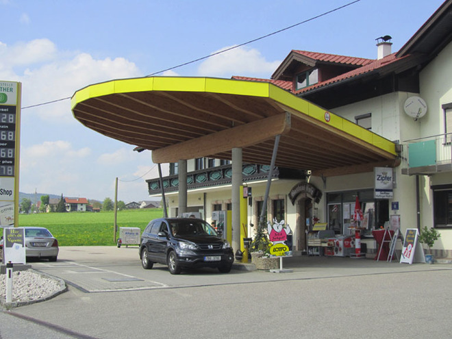petrol station 'Roither KG'