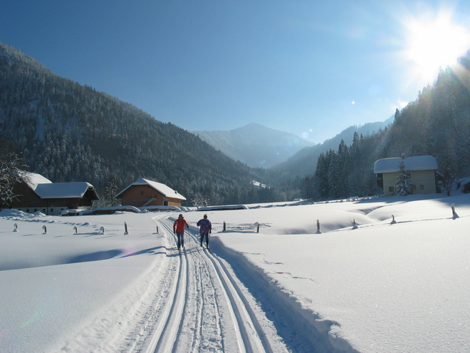 Cross- country Trails in Hintersee