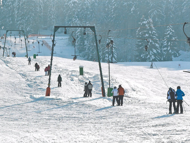 Hochplett Ski Lifts - Oberaschau