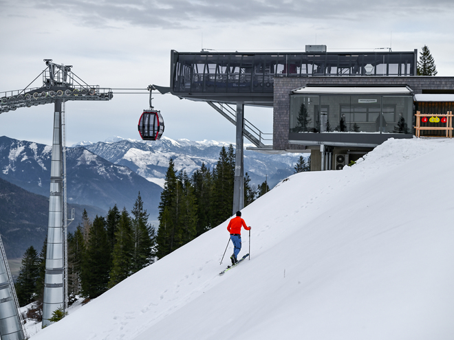Zwölferhorn Ski- fahren