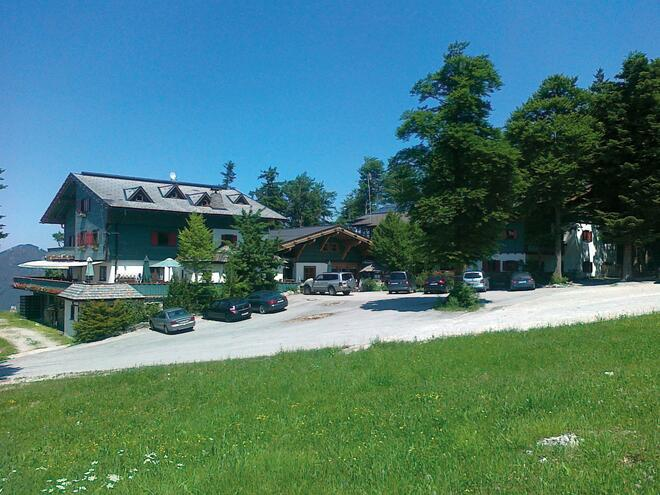 Bergstraße Farrenau - Mautstraße ins Wandergebiet Kasberg zum Hochberghaus