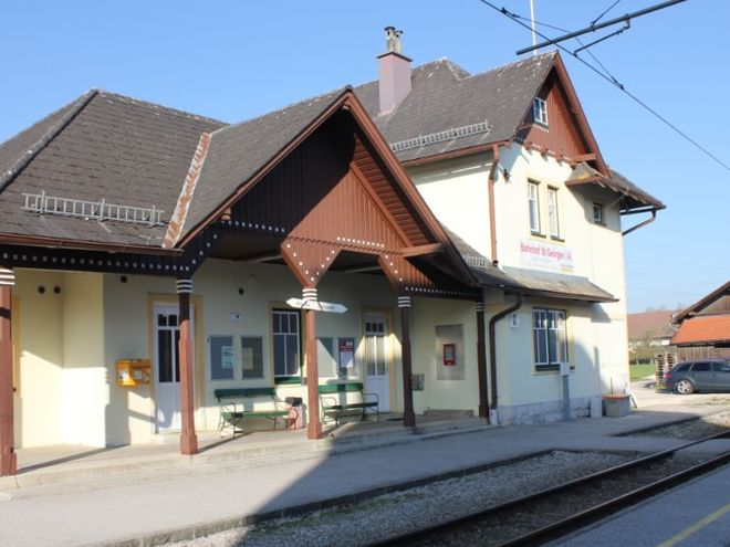 Attersee Adventure Train station St. Georgen im Attergau