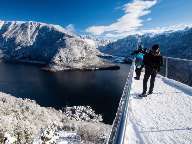 Hallstatt Skywalk - The 'World Heritage View'