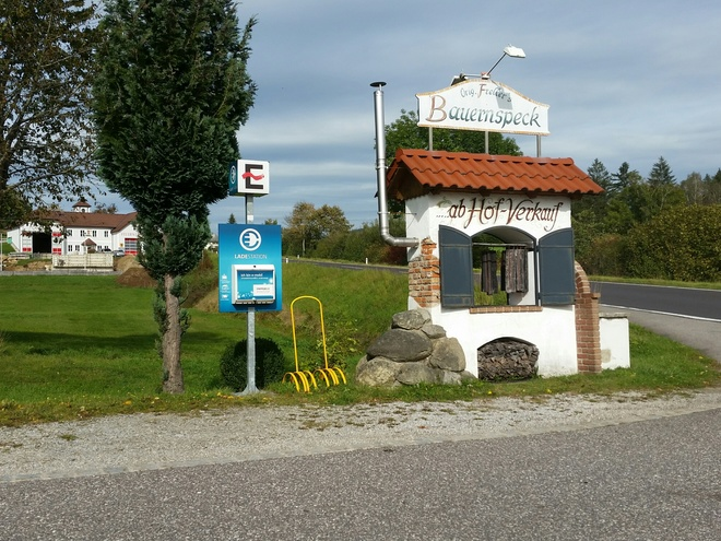 e-Bike Ladestation Gasthaus Frellerhof