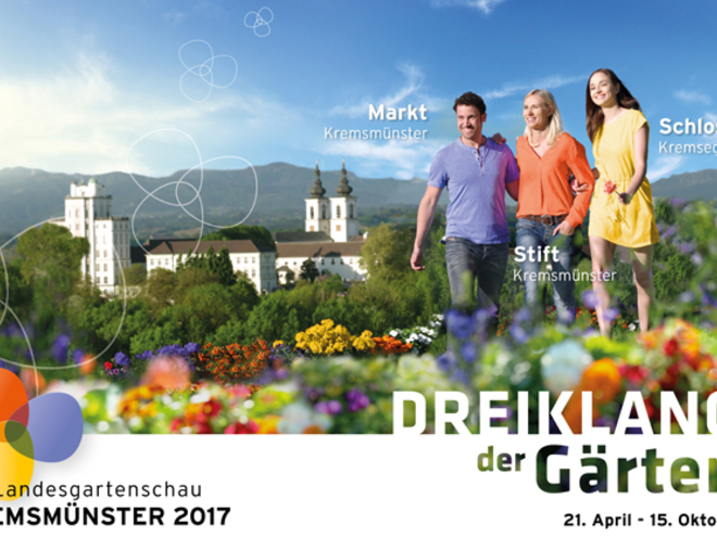 Sujet OÖ Landesgartenschau Kremsmünster 2017