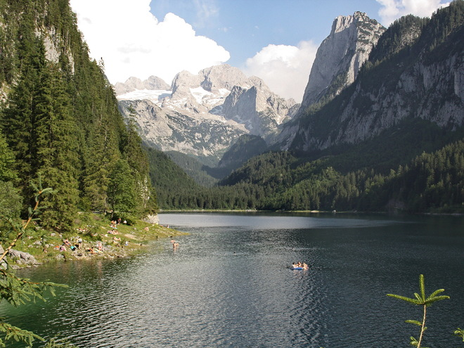 Tour around the Lake Gosau