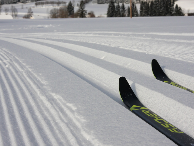 Cross-country skiing 'Schilift'
