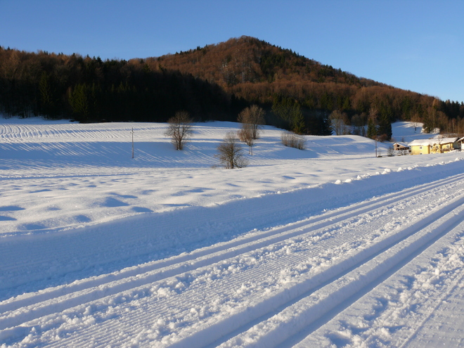 cross country skiing slope - Gitzenloipe
