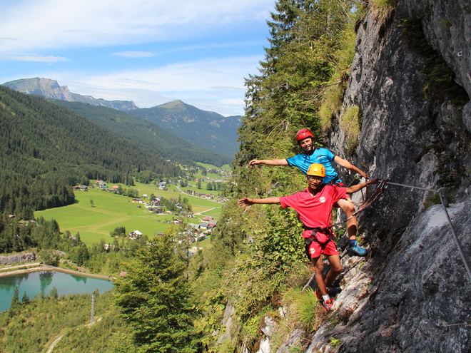 Max & Moritz Children's and youth via ferrata