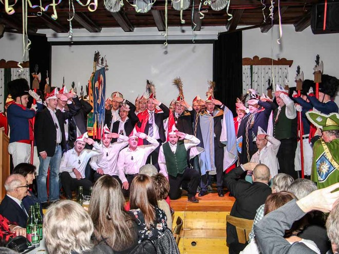 Carnival Evening in St. Gilgen
