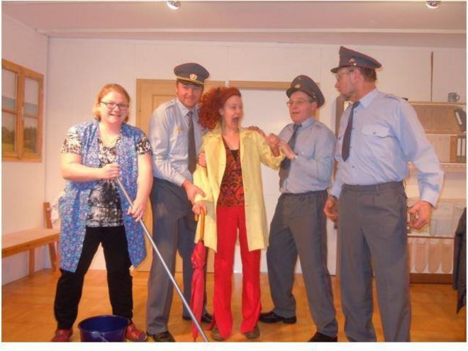 Theater 'Polizeiwache 007!'