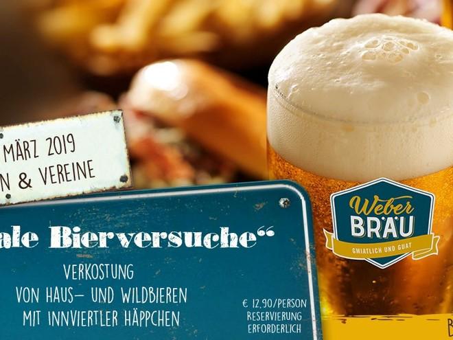INNVIERTLER BIERMÄRZ: Legale Bierversuche