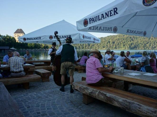 Fishers festival at Lake Fuschl