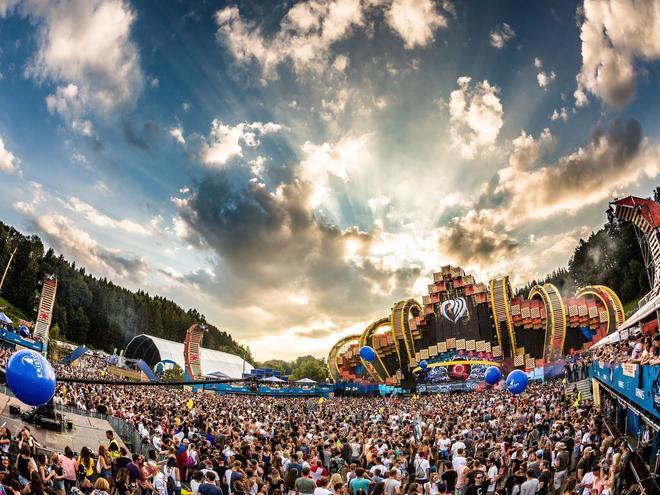 Open air concert 'electric love' from 5th - 09th July at the Salzburgring