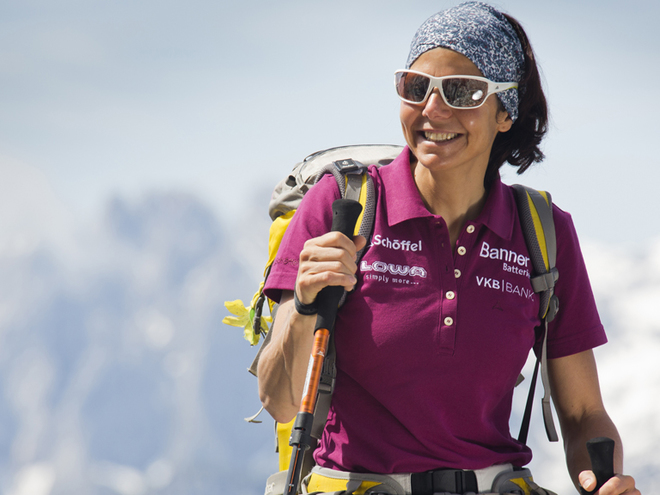 Hiking event with Gerlinde Kaltenbrunner Attersee-Attergau