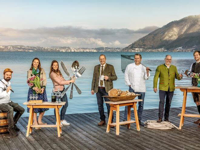 Felix2019-the culinaricfestival at the Traunsee lake