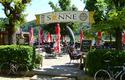 Gastgarten Gasthof Sonne, direkt an der Donau gelegen   © Manfred Königstorfer