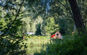 Camping Au an der Donau, Hütte Kuckucksnest | © Gerhard Ebner
