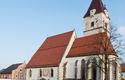 Urkundlich erw\u00e4hnt wurde die Kirche \u201eSt. Jakobi\u201c erstmals 1363, erst 1542 erfolgte die Erhebung zur eigenst\u00e4ndigen Pfarre, seit 1969 ist sie Stadtpfarrkirche. | © Stadtmarketing PERG - A.Schneider