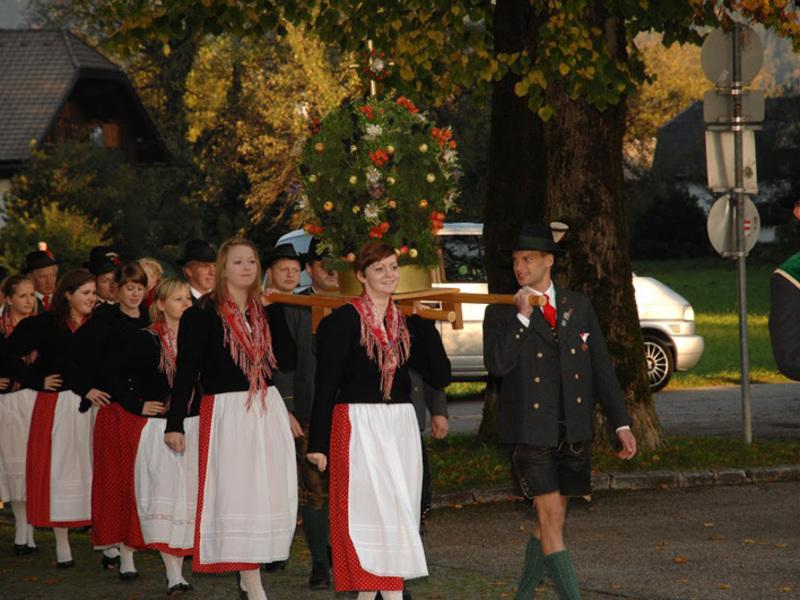 Erntedankfest in Abersee