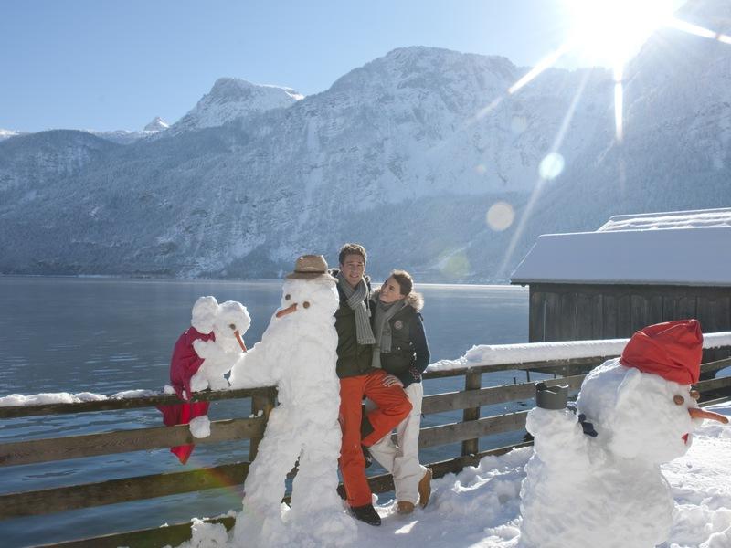 Das Heritage.Hotel Hallstatt ist auch im Winter definitiv einen Besuch wert.