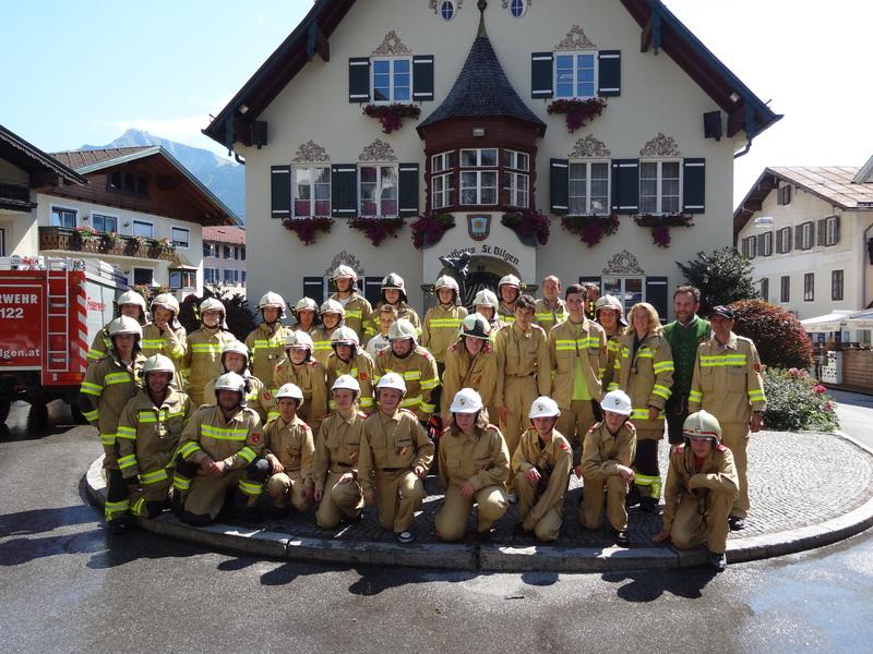 Florianifeier der Feuerwehr St. Gilgen