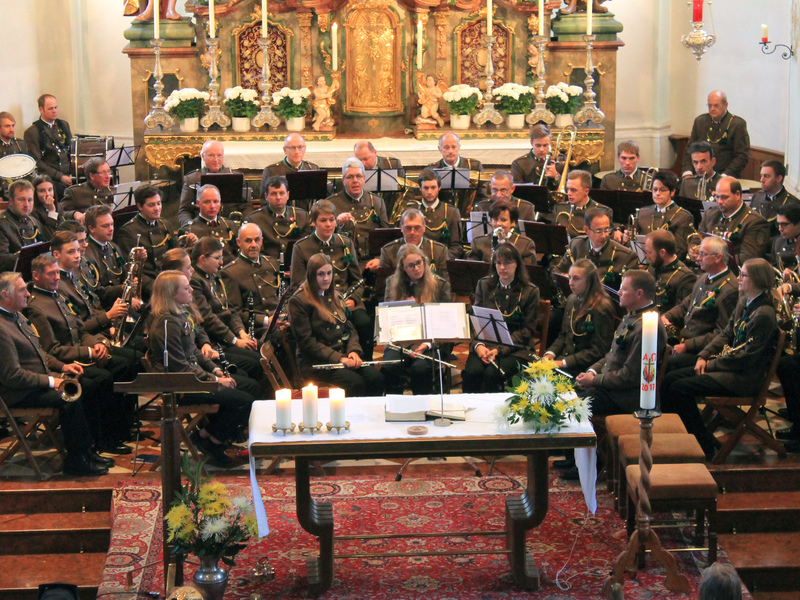 Kirchenkonzert der Ortsmusikkapelle Strobl