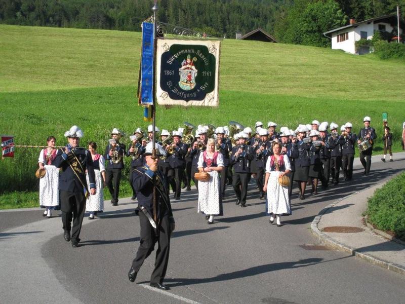Platzkonzert der Bürgermusik St. Wolfgang