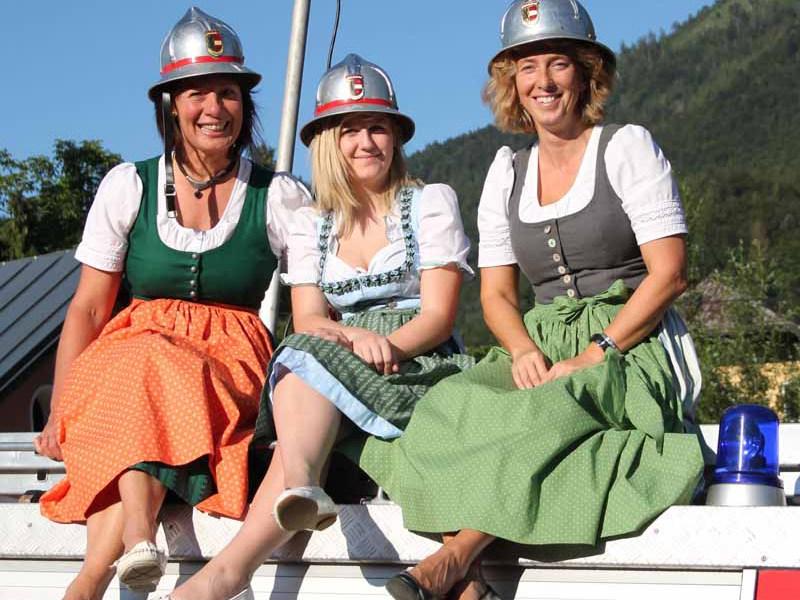 Feuerwehrfest in Winkl - Wingi is husig