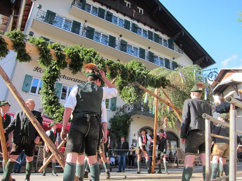 Maibaumfest des Trachtenvereins