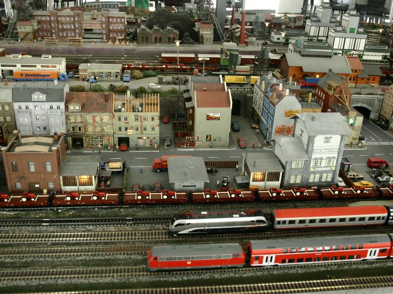 Modelleisenbahn-Ausstellung vom Modelleisenbahnclub Strobl