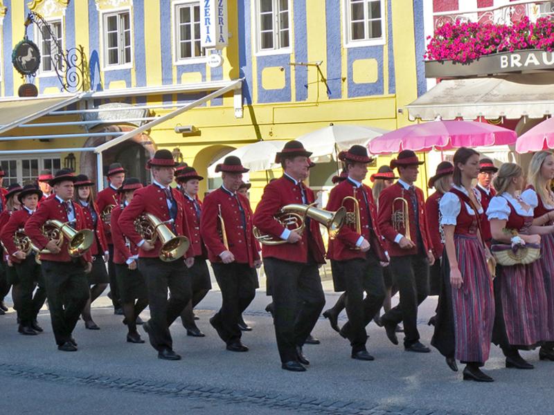 Sommerkonzert mit der Musikkapelle Tiefgraben
