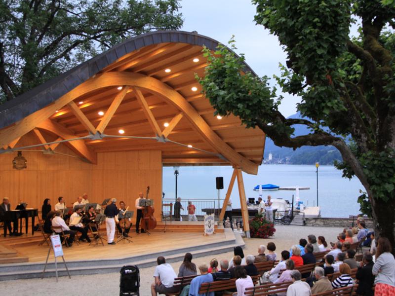 Musik zur Sommerfrische mit Musikverein (Salonkapelle) St. Wolfgang