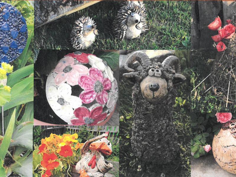 Gartenausstellung beim Brucknerhof am Hilfberg