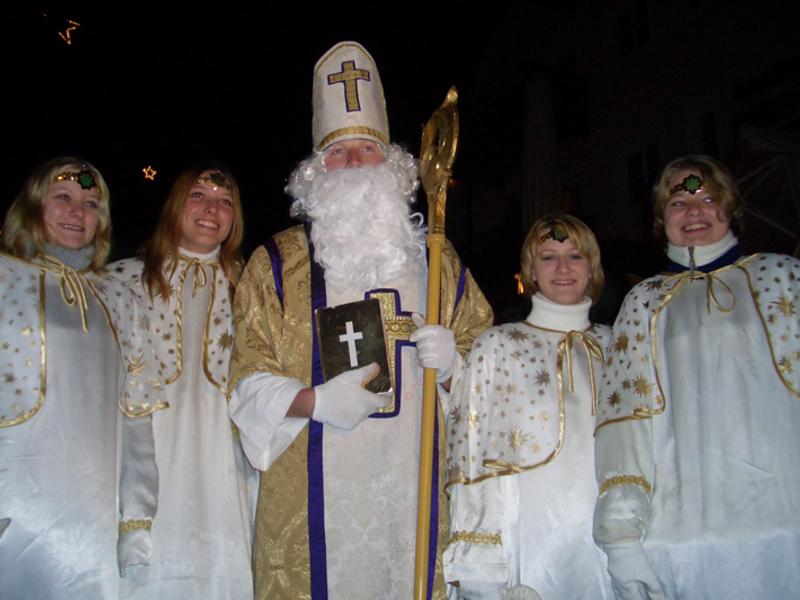 Empfang des Hl. Nikolaus